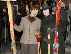 Historisches Skirennen am Stinesser