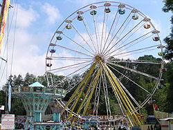 Großes Volksfest in Sonthofen