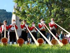 Alphorn-Tage mit dem internationalen Alphorn-Festival