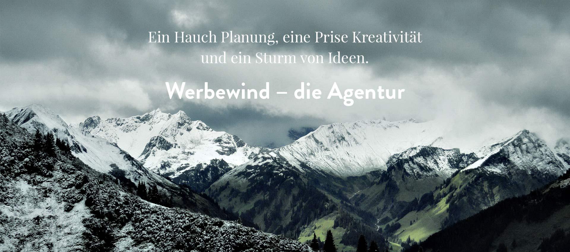 Ihre Werbeagentur im <strong>Allgäu</strong>