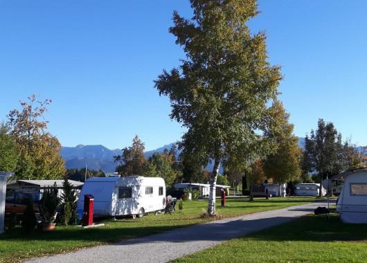 Campingplatz Seewang